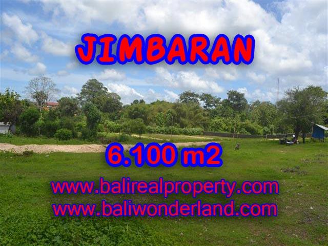 Tanah dijual di Bali 6.100 m2 di Jimbaran Sawangan
