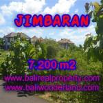 Tanah Jimbaran dijual