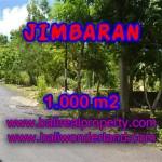 DIJUAL TANAH MURAH DI JIMBARAN BALI TJJI070-X - KESEMPATAN INVESTASI PROPERTY DI BALI