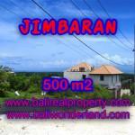 JUAL TANAH DI JIMBARAN RP 6.450.000 / M2 - TJJI066-X