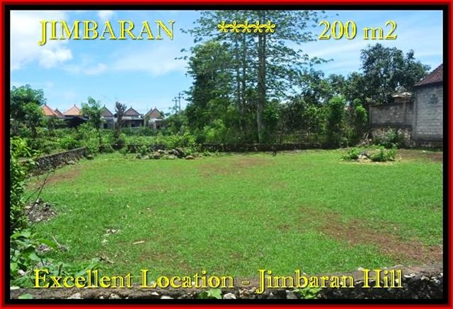 TANAH JUAL MURAH JIMBARAN BALI 200 m2 Lingkungan Villa