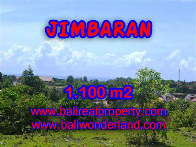 TANAH DIJUAL MURAH di JIMBARAN BALI Untuk INVESTASI TJJI067