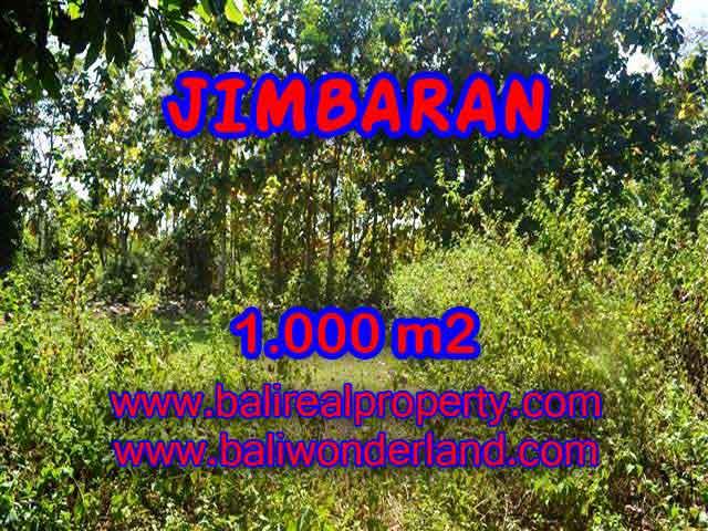 TANAH MURAH di JIMBARAN BALI 1,000 m2  Lingkungan Perumahan