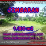 JUAL MURAH TANAH di JIMBARAN 1,000 m2 di Jimbaran four seasons