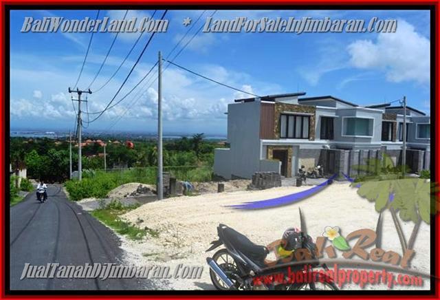 TANAH MURAH di JIMBARAN BALI 500 m2 Lingkungan villa