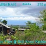 TANAH MURAH di JIMBARAN BALI 375 m2 View laut Lingkungan villa