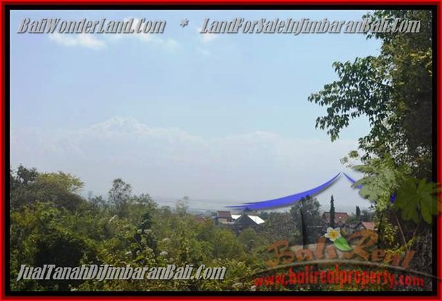 TANAH JUAL MURAH JIMBARAN 375 m2 View laut dan bandara
