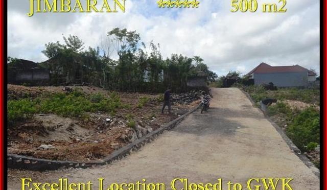 TANAH di JIMBARAN DIJUAL 500 m2 di Jimbaran Ungasan