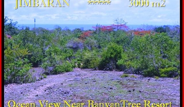 JUAL TANAH MURAH di JIMBARAN BALI 30 Are View laut , bukit dan hotel