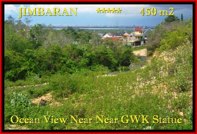 JUAL TANAH MURAH di JIMBARAN BALI 2,25 Are View laut toll Lingkungan villa