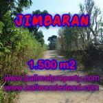TANAH MURAH DIJUAL di JIMBARAN BALI 15 Are di Jimbaran Ungasan