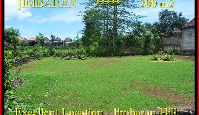 TANAH JUAL MURAH JIMBARAN 200 m2 Lingkungan Villa
