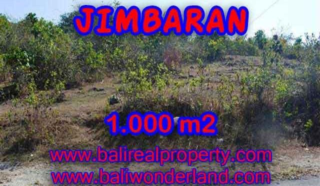 JUAL TANAH MURAH di JIMBARAN 1,000 m2 Lingkungan Perumahan dan Villa