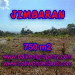 JUAL TANAH MURAH di JIMBARAN 750 m2 View laut dan bandara