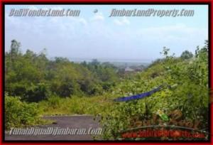 TANAH MURAH JUAL di JIMBARAN BALI 225 m2 View laut dan bandara