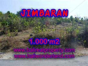 DIJUAL TANAH di JIMBARAN 1,000 m2 di Jimbaran Ungasan