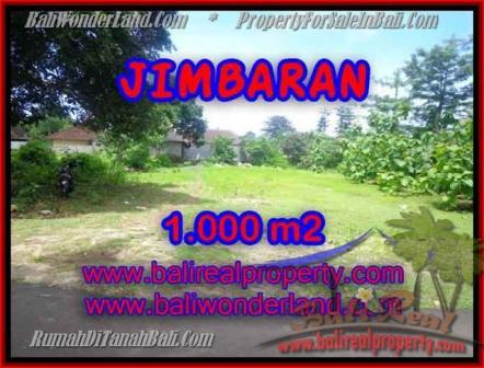 TANAH di JIMBARAN JUAL MURAH 10 Are Lingkungan villa
