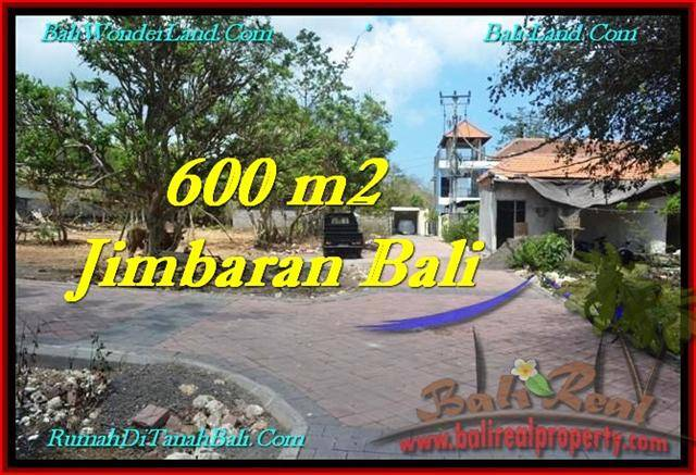 TANAH MURAH di JIMBARAN JUAL 600 m2 Lingkungan Villa