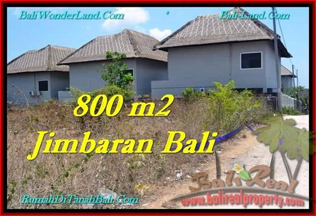 TANAH DIJUAL di JIMBARAN BALI 800 m2 di Jimbaran Ungasan