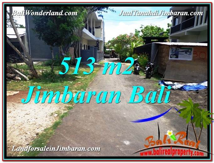 DIJUAL MURAH TANAH di JIMBARAN BALI 513 m2 di Jimbaran Ungasan
