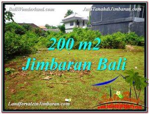 JUAL TANAH MURAH di JIMBARAN BALI 200 m2 Dekat Kampus
