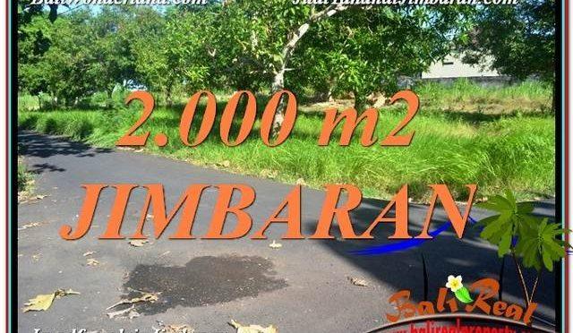 TANAH di JIMBARAN JUAL 20 Are View Laut dan Jalan Tol