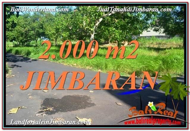 JUAL MURAH TANAH di JIMBARAN 20 Are View Laut dan Jalan Tol