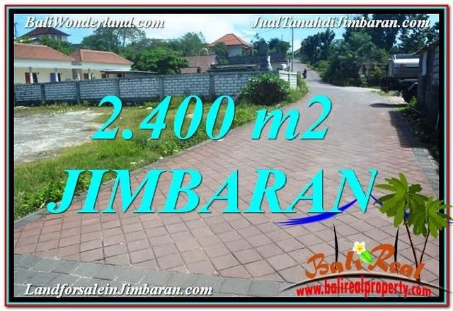 DIJUAL MURAH TANAH di JIMBARAN 2,400 m2 di Jimbaran Uluwatu