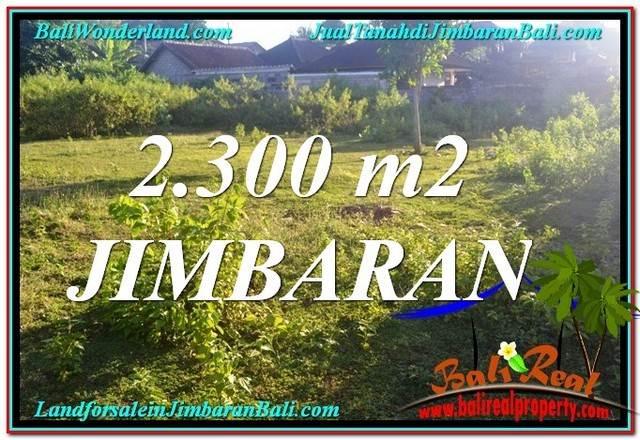 TANAH DIJUAL di JIMBARAN Untuk INVESTASI TJJI117