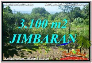 JUAL MURAH TANAH di JIMBARAN 3,100 m2  View Laut dan Jalan Tol