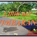 JUAL MURAH TANAH di JIMBARAN 2,000 m2 di Jimbaran Uluwatu