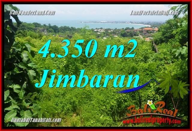 JUAL TANAH di JIMBARAN BALI 4,350 m2 di Jimbaran Ungasan