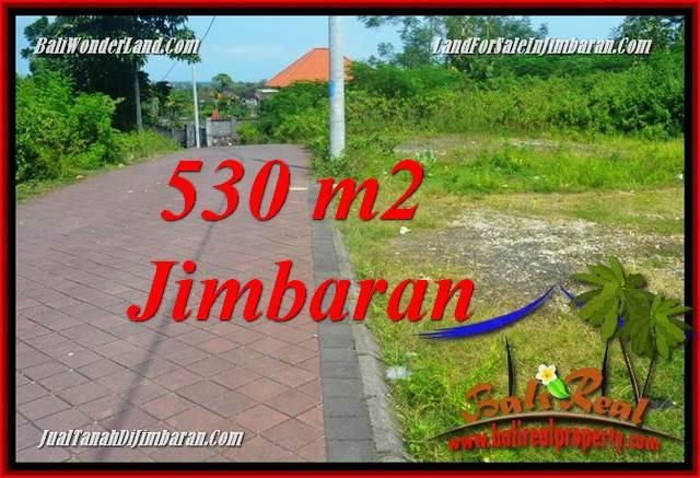 JUAL MURAH TANAH di JIMBARAN 530 m2 LINGKUNGAN VILLA