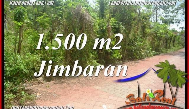 TANAH MURAH DIJUAL di JIMBARAN 1,500 m2 di JIMBARAN ULUWATU