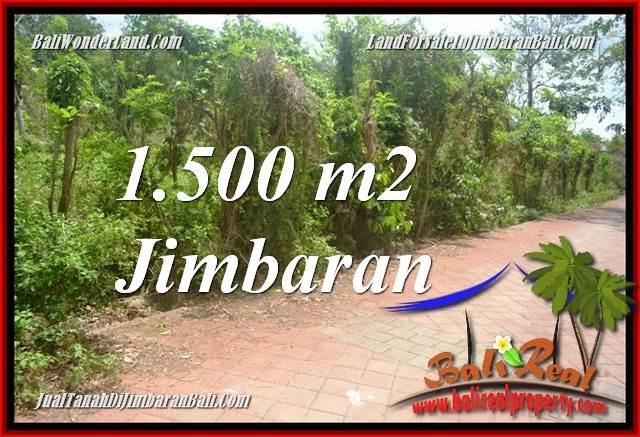 TANAH MURAH di JIMBARAN 1,500 m2 di JIMBARAN ULUWATU