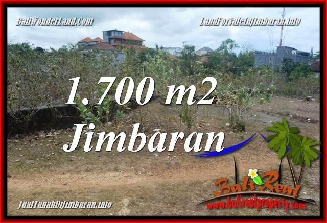 JUAL MURAH TANAH di JIMBARAN 1,700 m2  LINGKUNGAN PERUMAHAN ELITE